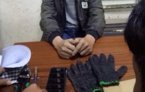 Trộm trốn trong siêu thị để lấy cắp 14 chiếc iPhone