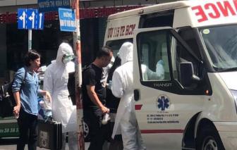 Du khách Trung Quốc bị nhân viên mặc đồ kiểm dịch đưa lên xe ở TP.HCM chỉ bị rối loạn tiêu hóa