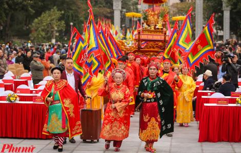 Hàng ngàn người dân dự Lễ kỷ niệm 231 năm chiến thắng Ngọc Hồi - Đống Đa trong tiết trời lạnh buốt