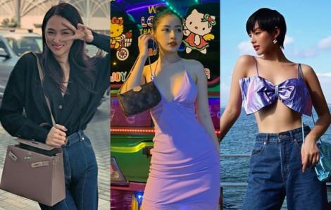 Thời trang gợi cảm của sao Việt trong chuyến du lịch nước ngoài đầu năm