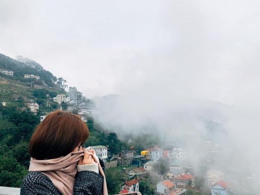 Đầu năm ngắm Tam Đảo trong mây và sương mù