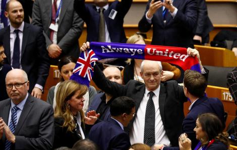 Nghị viện châu Âu thông qua thỏa thuận rút lui của Anh khỏi khối EU