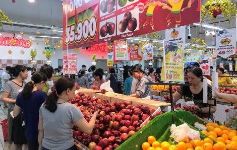 Chỉ số tiêu dùng tháng Một cao ngất vì giá thực phẩm, xăng dầu, tàu xe