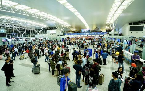 Từ 13 giờ ngày 1/2: Dừng toàn bộ các chuyến bay giữa Việt Nam và Trung Quốc