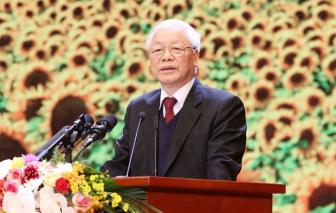 Mít tinh trọng thể kỷ niệm 90 năm Ngày thành lập Đảng Cộng sản Việt Nam