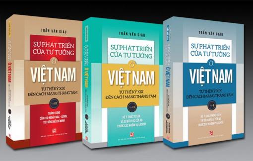 Bộ sách tiêu biểu của giáo sư Trần Văn Giàu trở lại