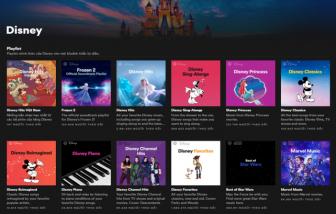 Disney Hub nay đã có mặt trên Spotify tại Đông Nam Á, Hồng Kông và Đài Loan