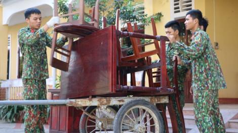 Cận cảnh khu cách ly tại Huế trước giờ đón 250 công dân Việt Nam trở về từ Trung Quốc