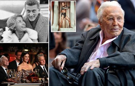 Huyền thoại Hollywood Kirk Douglas qua đời ở tuổi 103