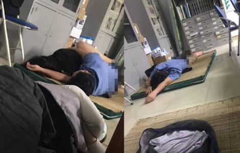 Vụ bác sĩ 'ôm sinh viên ngủ trong ca trực': Phản xạ đạp chân cởi quần trong giấc ngủ