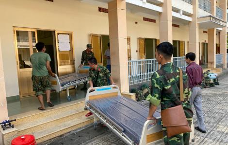 TPHCM đang gấp rút xây dựng bệnh viện dã chiến ở Củ Chi