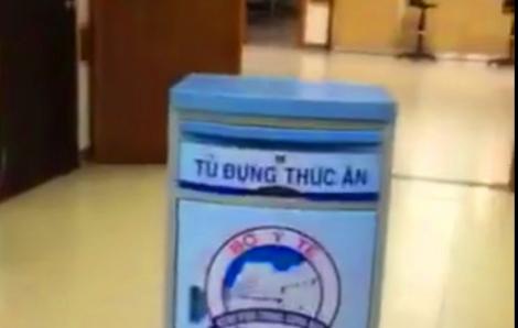 Bệnh viện Trung ương Huế sử dụng 'robot' mang thức ăn để tránh lây nhiễm nCoV