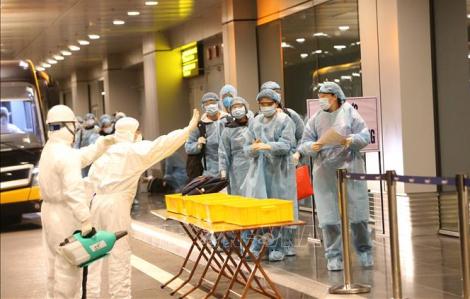 30 công dân Việt Nam từ Vũ Hán đã trở về nước