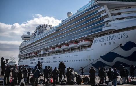 Số ca nhiễm 2019-nCoV trên tàu du lịch tại cảng Yokohama đã lên tới 130