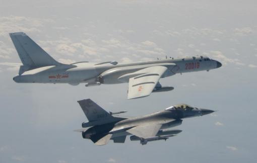 Trung Quốc tiếp tục cho chiến đấu cơ tiến vào không phận đảo Đài Loan
