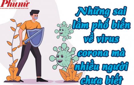 Những sai lầm phổ biến về virus corona mà nhiều người chưa biết