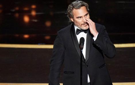 Diễn từ 'có một không hai' của 'gã hề' Joaquin Phoenix