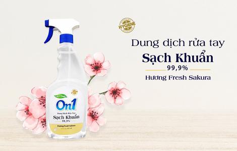Lixco ra mắt gel rửa tay khô và dung dịch rửa tay thương hiệu On1