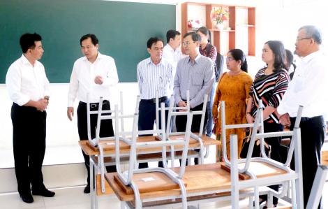 Gần nửa triệu học sinh Cần Thơ trở lại trường học từ ngày 17/2
