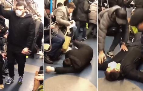 Đối mặt 5 năm tù vì giả vờ nhiễm Covid-19 trên tàu điện ngầm