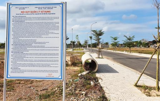 Doanh nghiệp bán đất xong, tỉnh mới phê duyệt đánh giá tác động môi trường
