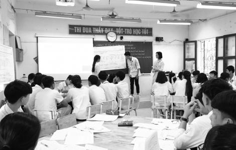 Giá mà tiết học nào thầy cô cũng dạy như thi giáo viên giỏi