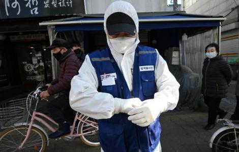 Số ca nhiễm COVID-19 ở Hàn Quốc tăng vọt lên 82
