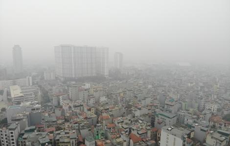Hà Nội ô nhiễm không khí trong 2 tháng đầu năm