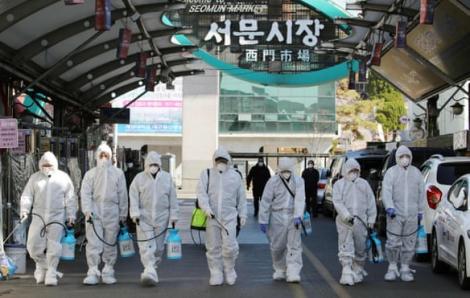 Hàn Quốc nâng báo động dịch bệnh COVID-19 lên mức cao nhất