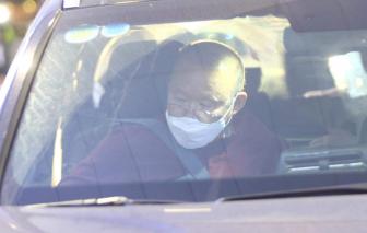 HLV Park Hang-seo đã trở lại Việt Nam, được kiểm tra y tế