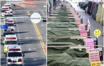 Thành phố Daegu, Hàn Quốc vắng lặng bởi dịch COVID-19