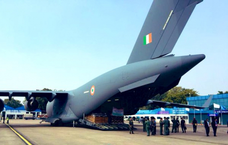 Ấn Độ dùng máy bay đặc biệt đưa công dân từ Vũ Hán về