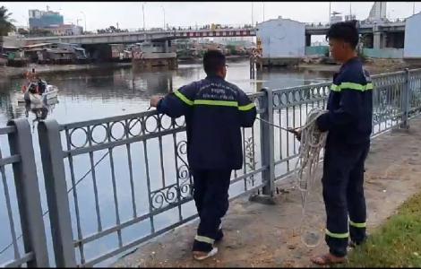 Cặp vợ chồng dừng xe dưới cầu Chữ Y rồi lao xuống kênh tự tử