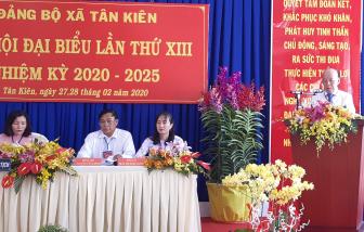 Xã Tân Kiên, huyện Bình Chánh quyết liệt nói 'không' với vi phạm trật tự xây dựng