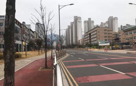 Một mình giữa Daegu