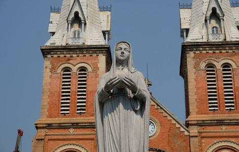 Trùng tu Nhà thờ Đức Bà Sài Gòn đang ở giai đoạn nào?