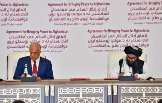 Mỹ ký thỏa thuận hòa bình với Taliban