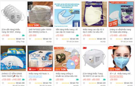 Sendo, Shopee, Lazada, Tiki… phải gỡ hàng loạt gian hàng vì lợi dụng COVID-19 bán hàng 'chặt chém'