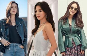 Gu thời trang 'sành điệu' của mỹ nhân Hàn chạm ngưỡng U40