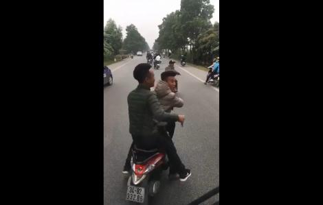 Nhóm thanh niên tạt đầu, chặn xe chở tân binh bị phạt 14 triệu đồng