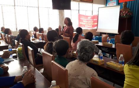 40 lượt truyền thông bồi dưỡng kiến thức, kỹ năng cho 4.000 nữ công nhân