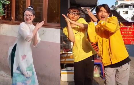 """Clip: """"Ghen cô Vy"""", vũ điệu rửa tay được sao Việt hưởng ứng"""