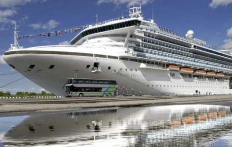 """Một """"siêu tàu"""" ở Mỹ với 19 ca nhiễm COVID-19 đang trở thành nỗi sợ hãi trên biển"""