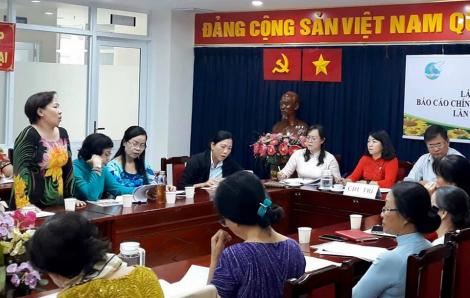 Hội viên phụ nữ kiến nghị ghi nhận những đóng góp thiết thực