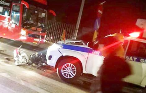 Thực hư thông tin cảnh sát giao thông Vĩnh Long gây tai nạn rồi bỏ đi