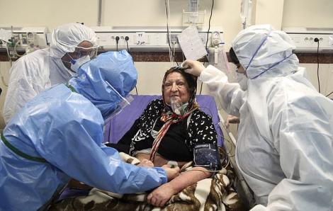 Số ca tử vong vì COVID-19 tại Iran gần chạm mốc 200