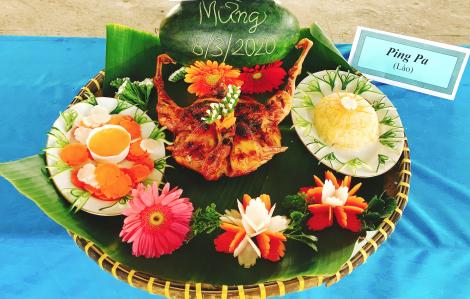 Đoạt giải nhất là món gỏi ba khía Thái Lan