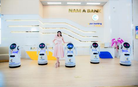 Hoa hậu Khánh Vân khoe vũ đạo cùng robot OPBA