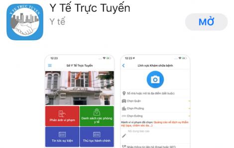 TPHCM ra mắt ứng dụng để người dân phản ảnh sai phạm của cơ sở y tế