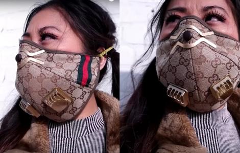 Clip: Cắt mũ Gucci thành khẩu trang chống dịch COVID-19